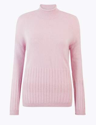 Marks and Spencer Turtle Neck Relaxed Fit Jumper