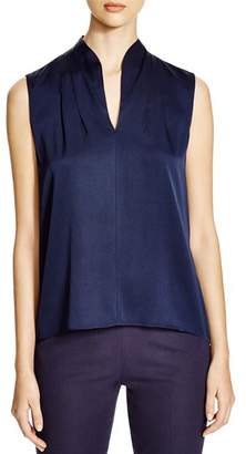 Elie Tahari Judith Stretch Silk Blouse