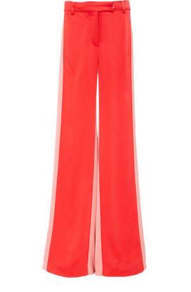 Alexis Flin Two-Tone Duchess Satin Pants