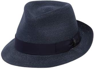 Borsalino Small Brim Hemp Hat