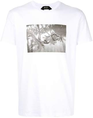 No.21 graphic print T-shirt
