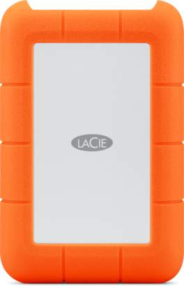 Apple LaCie 4TB Rugged RAID PRO USB-C Hard Drive with Built-in SD Card Reader