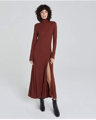 AG Jeans The Chels Maxi Dress - Rich Crimson