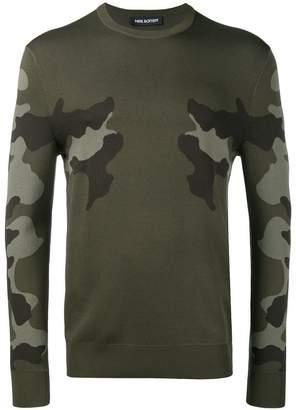 Neil Barrett camouflage jumper