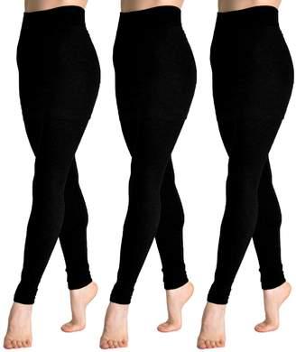 Angelina Cotton Blend Mini Skirt Leggings 021_Black, one
