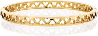 Tommy Hilfiger Gold Tiny Heart Bangle