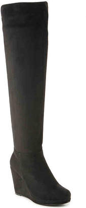 Chinese Laundry Lulu Over The Knee Wedge Boot - Women's