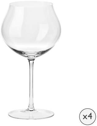 Clarity Handmade White Wine Glass