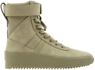 Fear Of God Khaki Suede Trainers