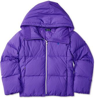 Ralph Lauren Water-Resistant Jacket, Toddler & Little Girls (2T-6X) $165 thestylecure.com