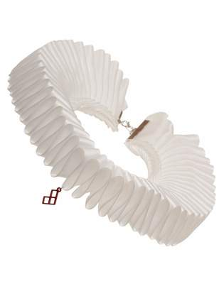 Bioworld DC Comics Harley Quinn Pleated Ruffle Cosplay Choker