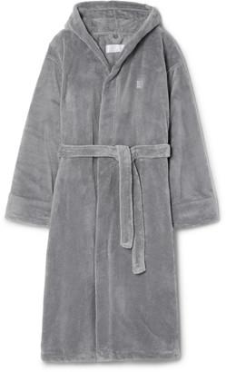 Soho Home - Fleece Hooded Robe - Men - Gray
