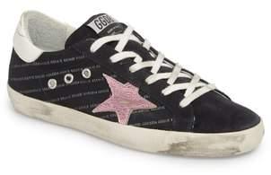 Golden Goose Superstar Logo Low Top Sneaker