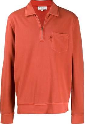 YMC half-zip collar jumper