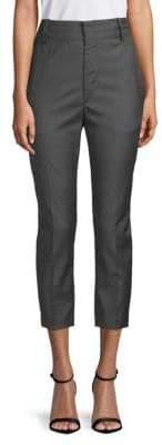 Etoile Isabel Marant Noah Cropped Wool Trousers