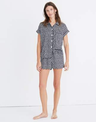 Madewell Bedtime Pajama Top in Mini Daisy