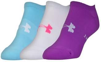 Under Armour Women's 3-pk. Athletic Solo Low-Cut Socks