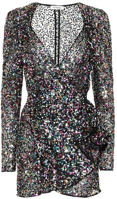 ATTICO The Pat sequined minidress