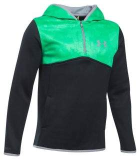 Under Armour Boys Armour Fleece Quarter-Zip Hoodie