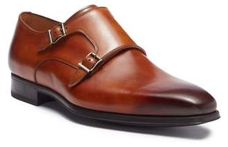 Magnanni Carmo Leather Double Monk Strap Oxford