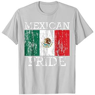 Mexican Flag Distressed T-Shirt