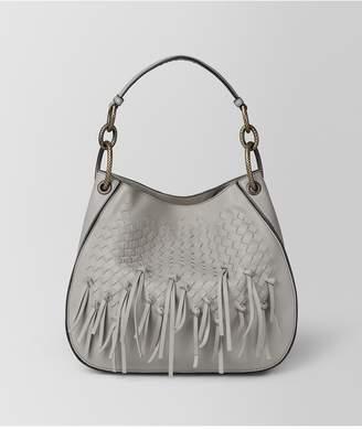 Bottega Veneta Cement Intrecciato Brio Loop Bag