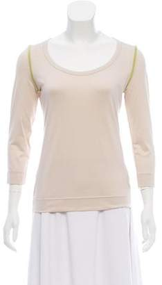 Akris Punto Long Sleeve Top