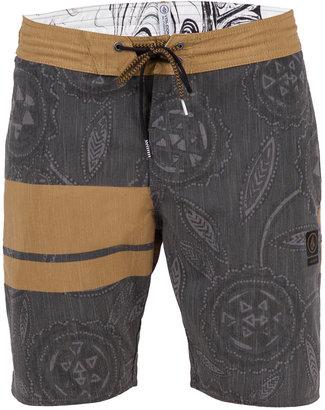 "Volcom Men's 3 Quarta Stripe Floral-Print 19"" Boardshorts $60 thestylecure.com"