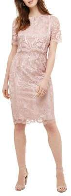 Phase Eight Titania Aida Lace Popover Dress