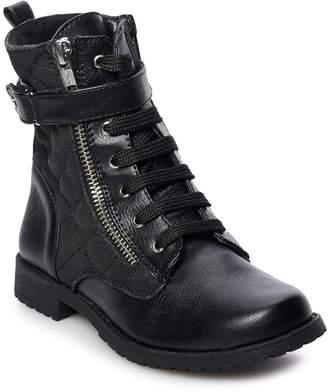 Rachel Kirsten Girls' Combat Boots