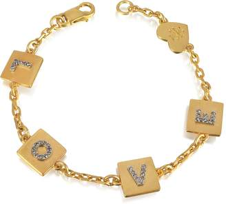 Tory Burch Love Message Delicate Chain Bracelet