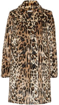 Alice + Olivia - Montana Leopard-print Faux Fur Coat - Leopard print $645 thestylecure.com