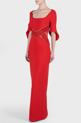 Antonio Berardi Millie Embroidered Dress