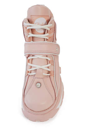 Opening Ceremony Buffalo London X Pink High-Top Platform Sneaker