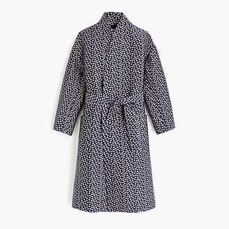 J.Crew Collection jacquard wrap coat