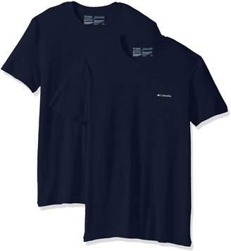 Columbia Men's 2-Pack Cotton Stretch Crew Neck T-Shirt