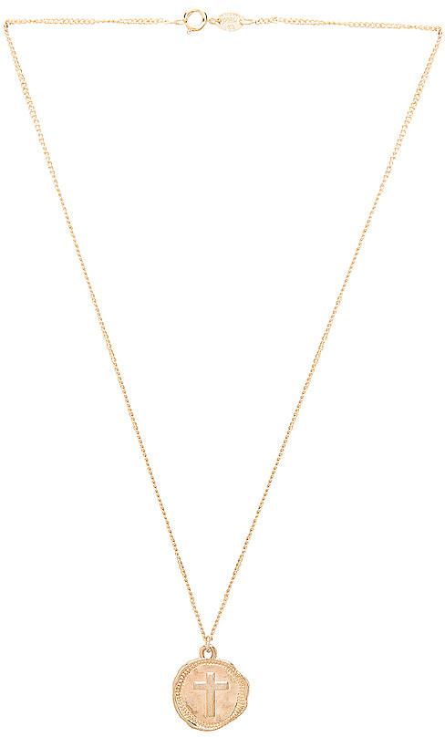joolz by Martha Calvo Cross Coin Necklace