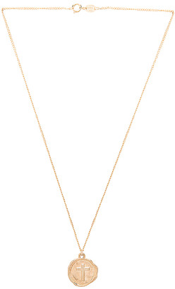 joolz by Martha Calvo Cross Coin Necklace