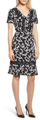Karl Lagerfeld PARIS Printed Sheath Dress