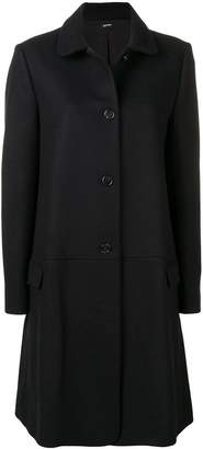 Jil Sander Navy single-breasted coat