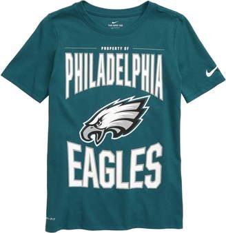 Nike NFL Logo Property of Philadelphia Eagles Dri-FIT T-Shirt