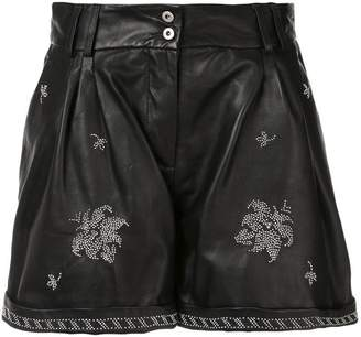 Dondup studded shorts