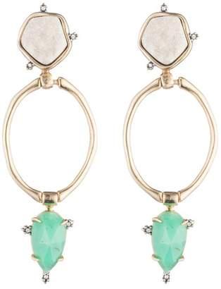 Alexis Bittar Druzy Stone Post Link Earring