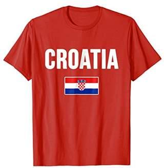Croatia T-shirt Croatian Flag