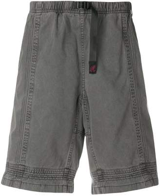 White Mountaineering panelled design shorts