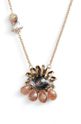 Swarovski Cynthia Desser Crystal Eye Pendant Necklace