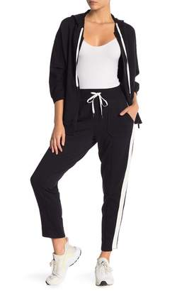 Nanette Lepore Track Stripe Tapered Pants