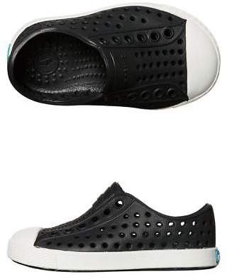 Native New Boys Tots Jefferson Shoe Rubber Black