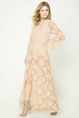FOREVER 21+ Contemporary Mesh Maxi Dress $34.90 thestylecure.com