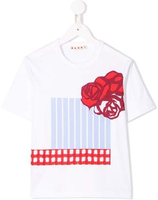 Marni floral graphic T-shirt